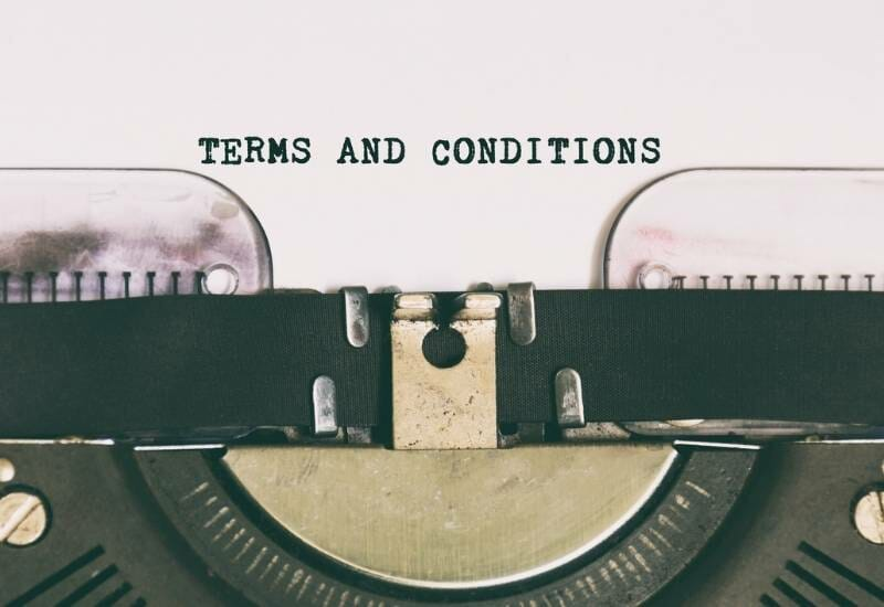 TERMS & CONDITONS